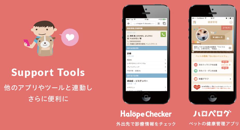 他のアプリやツールと連動し、さらに便利に